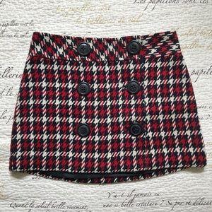 🔺4 FOR $20🔻 Knit Houndstooth Mini Skirt